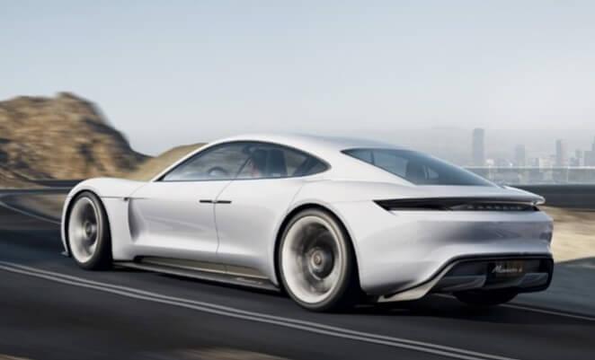 Серийная модель седана Porsche с электрическим приводом серии Mission E будет называться Taycan