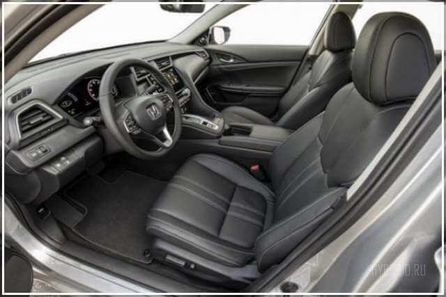 Интерьер и экстерьер Honda Insight 2019