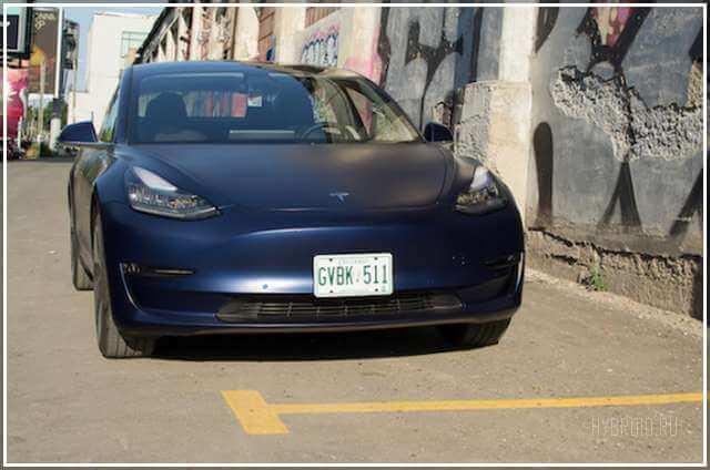 Характеристики электромобиля