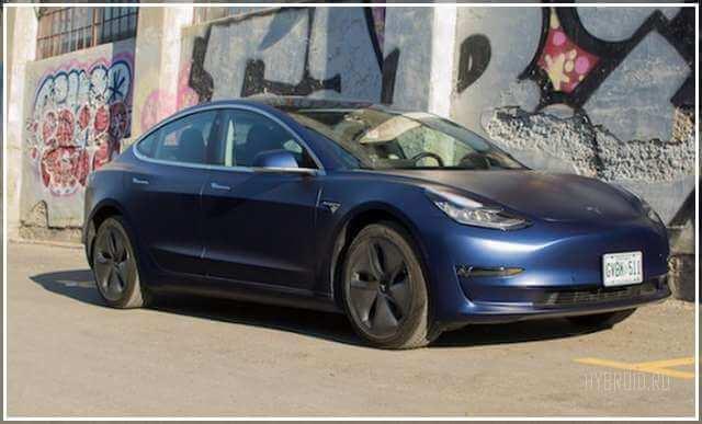 Первый обзор в России Tesla Model 3