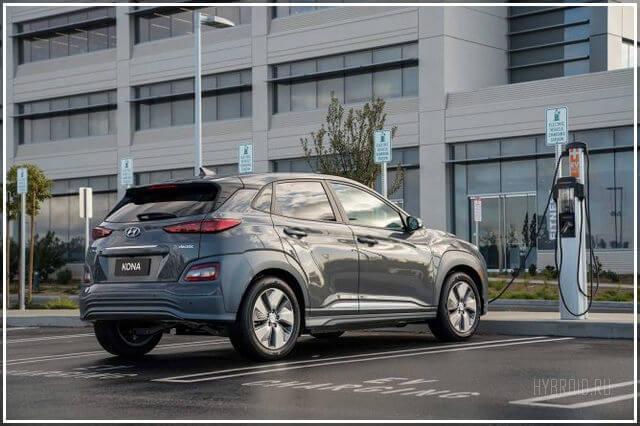 Hyundai Kona EV цена в России