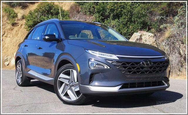 Внешний вид Hyundai Nexo 2019 года