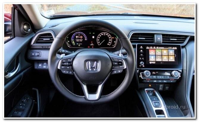 Управление Хонда Инсайт 2019 года выпуска