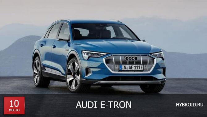 Место #10 - Audi E-Tron