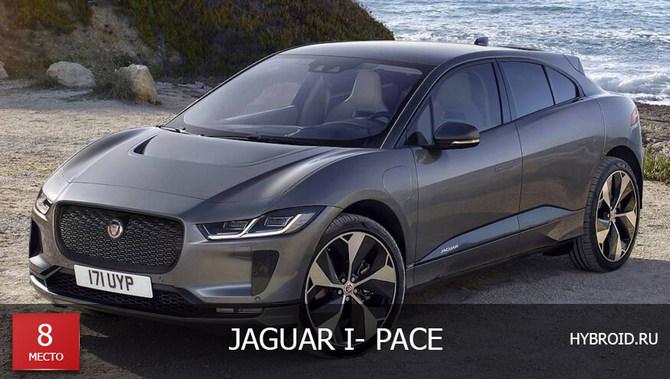 Место #8 - Jaguar I-Pace