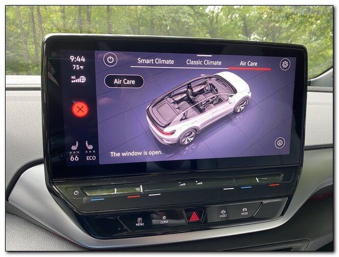Технологии Volkswagen ID4
